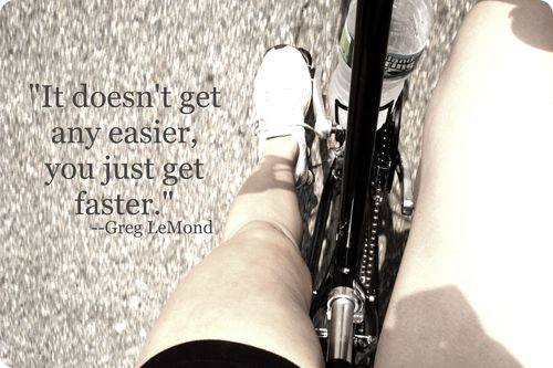 Intense hardcore cycling quotes