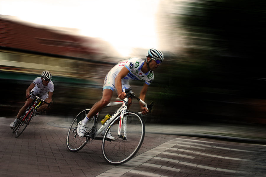 You Want to Bike Faster? Then Bike Faster!