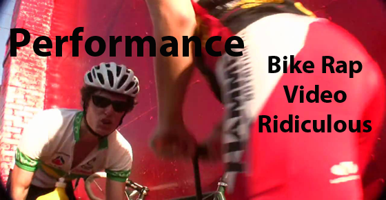 performance - cycling rap video