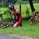 Junior Road Racer Off to a Rather Flat Start