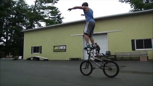 strangest bike tricks ever