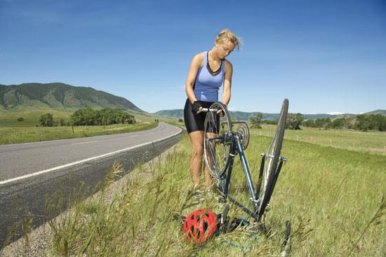 How To Change a Flat Bike Tire - I Love Bicycling