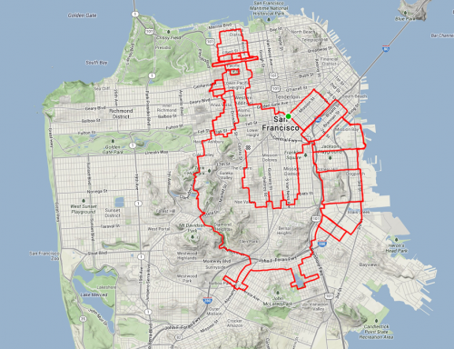 Strava Art - Turkey