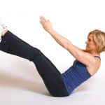 V twist exercises to strengthen core