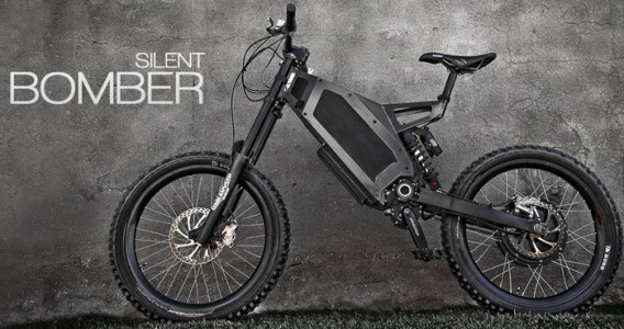 Motorized Mountain Bike
