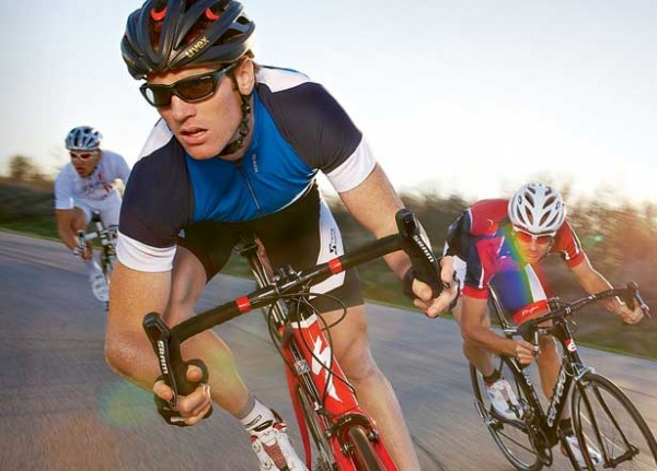 cycling secrets - Some cycling secrets including the power of drafting, how to handle winds, and aerodynamic clothing and posture.