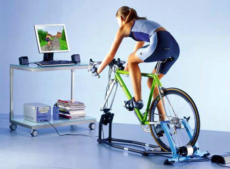 Virtual Reality Bike Trainer