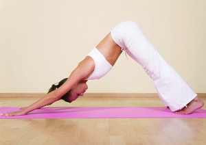 downward facing dog great stretches for cyclists