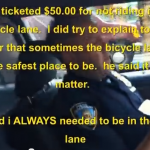 Why You Should Not Always Bike In the Bike Lane