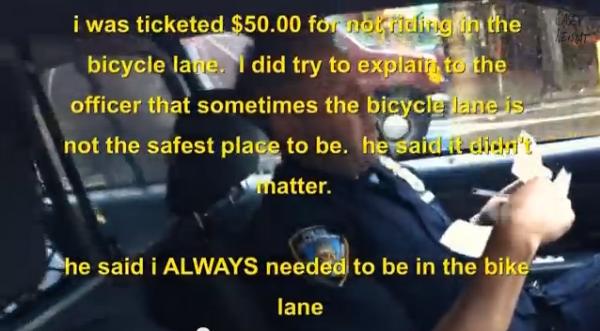 Why You Should Not Always Bike In the Bike Lane