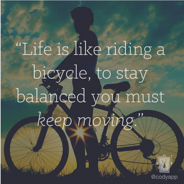 Albert Einstein Quotes Life Is Like Riding A Bicycle: Quotes About Riding A Bicycle. QuotesGram