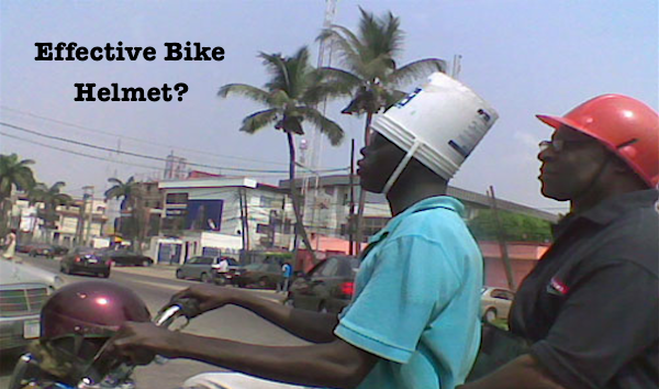 Just how effective are bike helmets