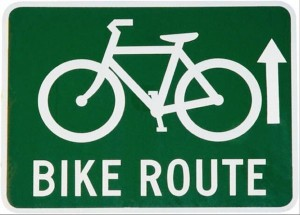 finding new bike routes