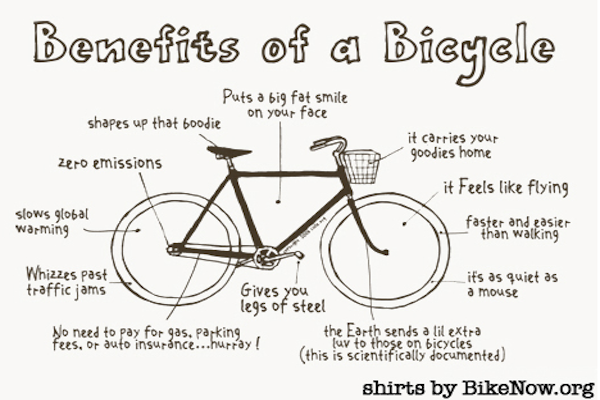 10 Reasons to Commute to Work on Bike