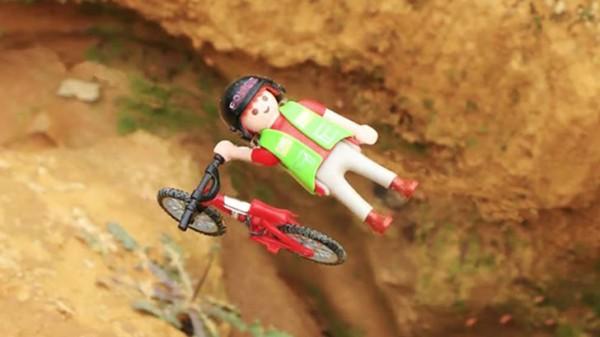 extreme lego biking