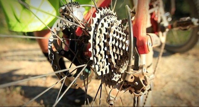 change bike gears in specific situations