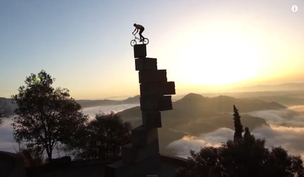 Unbelievable bike skills