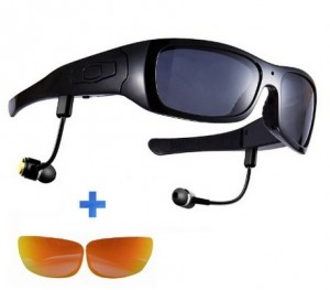 Best cycling cameras - Forestfish(TM) Polarized Sunglasses with Camera
