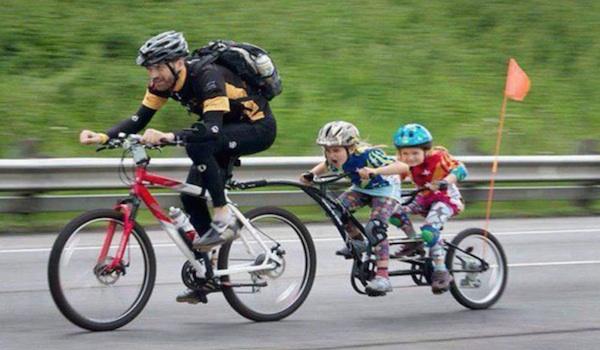 tag along bikes