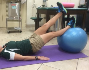 Glute bridge - Core Exercises For Cyclists