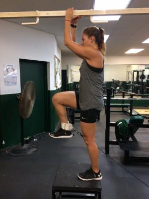 Hip flexion 1 - Leg Workouts For Cyclists
