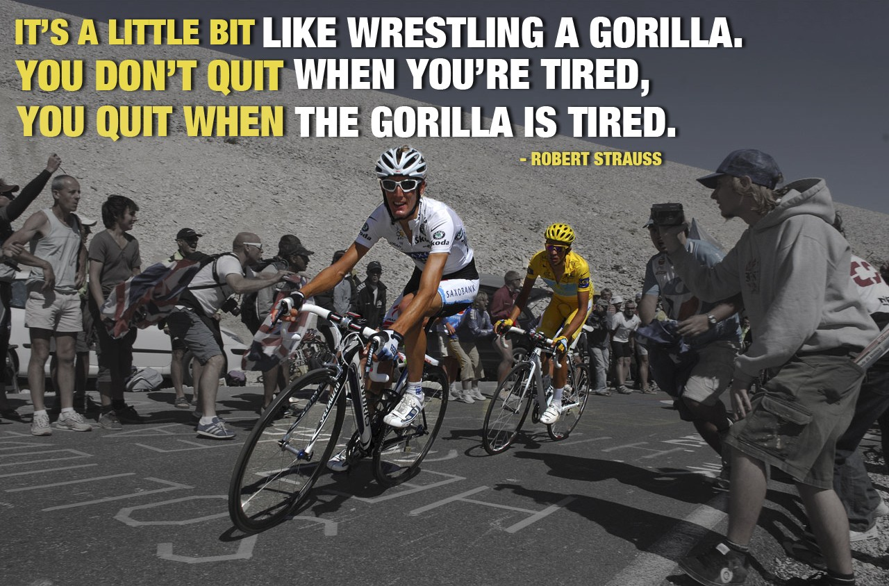 Cycling Quotes Pain I Love Bicycling
