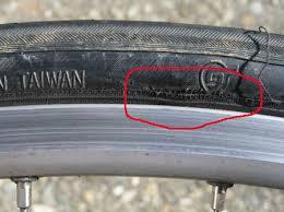 bad tire - Catastrophic Bike Failure