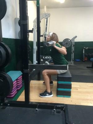 box squats 1 - Leg Workouts For Cyclists