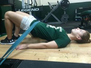 glut bridge 1 - Core Exercises For Cyclists