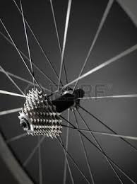 The point where two spokes intersect can ping.