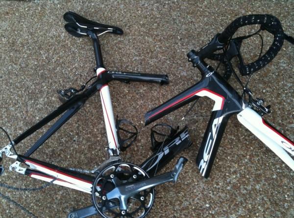 missing - Catastrophic Bike Failure
