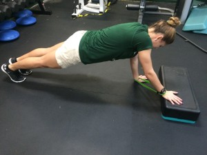 plank pushup 1 - Core Exercises For Cyclists
