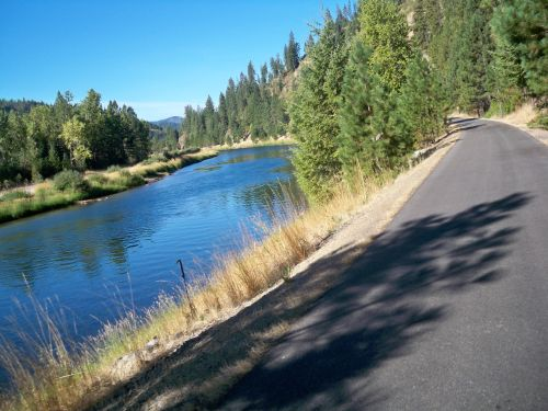 scenic river - Coeur D'Alene Bike Trail