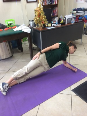 side planks - Core Exercises For Cyclists