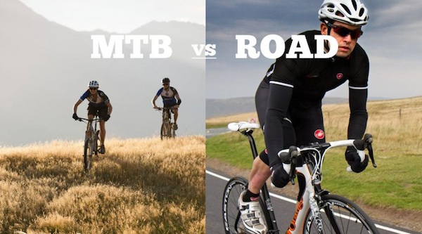 Roadie Versus Mountain Biker