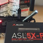 Allen Sports Light -5X-R USB Rechargeable Bike Light Set Review