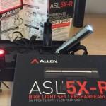 Allen Sports Light -5X-R USB Rechargeable Bike Light Set Review