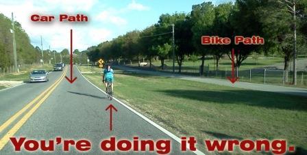 Bike Path Etiquette
