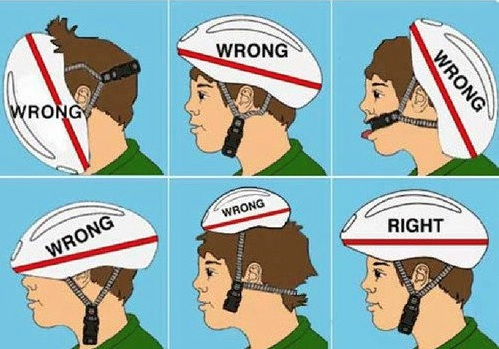 Image result for helmet adjust cycling