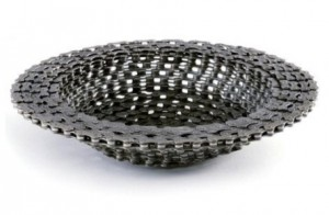 gifts for cyclists - bike chain bowl