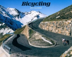 gifts for cyclists - cycling calendar