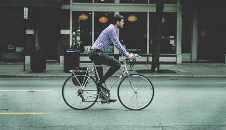 bike commuting