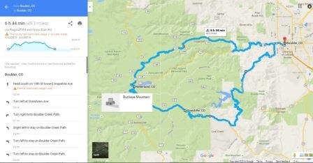 Google Maps Biking App Adds Elevation To Cycling Maps I Love
