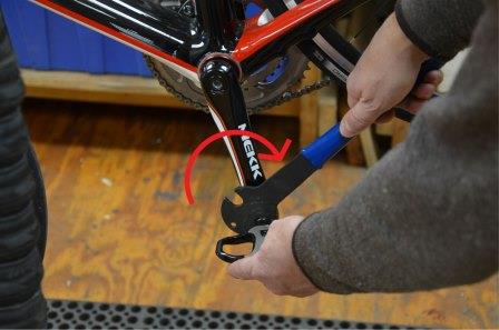 removing pedals
