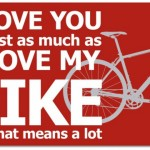Happy Valentine's Day From I Love Bicycling