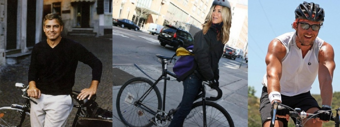 Celebrity Cyclists Who Love Cycling I Love Bicycling