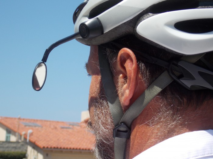 cycling mirror