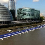 Alternative Transportaion — A Floating Cycling Highway in London