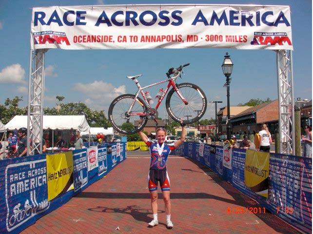 4,233-Mile Bike Ride Across the USA - YouTube