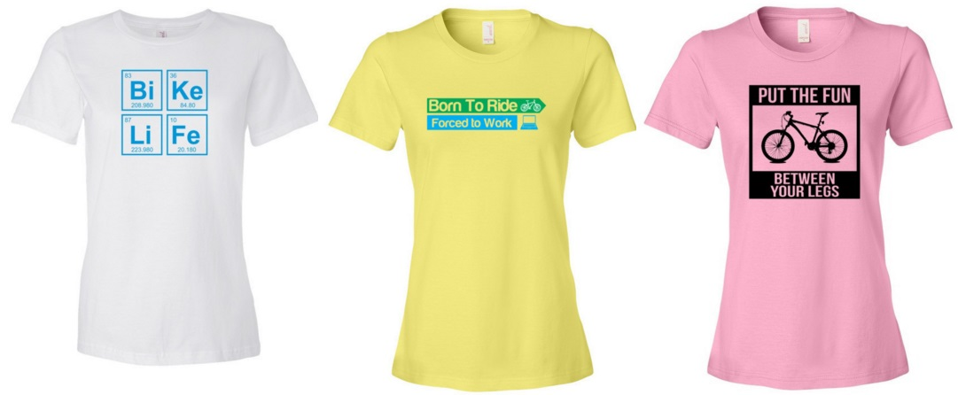 997891cda Women s Cycling T-Shirts You Can Buy - I Love Bicycling